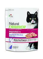 Trainer Natural Mature Cat корм для пожилых кошек с индейкой и курицей, 1.5 кг