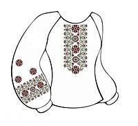 Заготовка женской сорочки-вышиванки ВЖБ-009