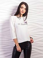 Стильный женский джемпер p.42-48 VM2215-2