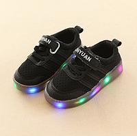 Подростковые led кроссовки