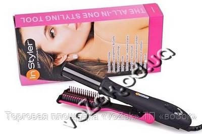 Утюжек плойка для волос с электронный регулированием Инсталлер (Instyler)