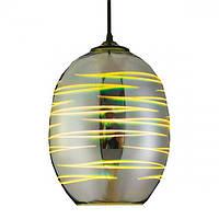 Подвесной светильник 3D эффект овал LASER Horoz Electric 40w