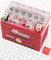 Аккумулятор 4Аh (гелевый, оранж) 113/70/85мм  от 10шт -4%