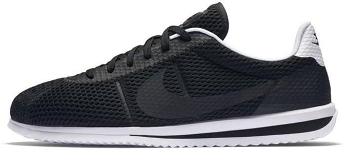 483eac43 Nike Cortez Ultra BR Black White | кроссовки мужские; летние; черно-белые -