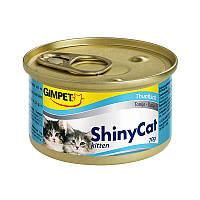 Консервы ShinyCat Kitten Tuna для кят с тунцом, 70 г