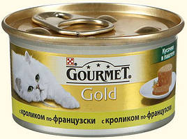 Gourmet Gold (Гурме Голд) консерва для котів Шматочки в паштет по-французьки 85 г