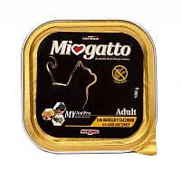 Консервы Miogatta Adult для кошек с бараниной и индейкой, 100 г