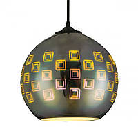Подвесной светильник с 3D-эффектом круглый SPECTRUM Horoz Electric