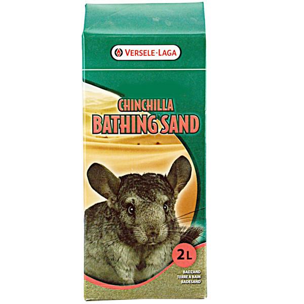 Песочная ванна Versele-Laga Prestige Chinchilla Bath Sand для шиншилл, 20 кг