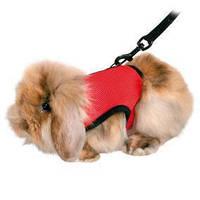 Шлея-жилетка+поводок Trixie Harness with Leash для морских свинок, 18-25 см