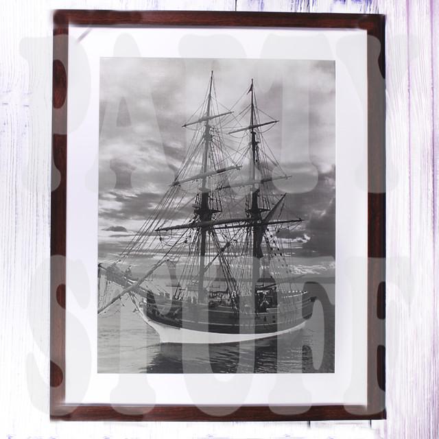 фотокартина корабль
