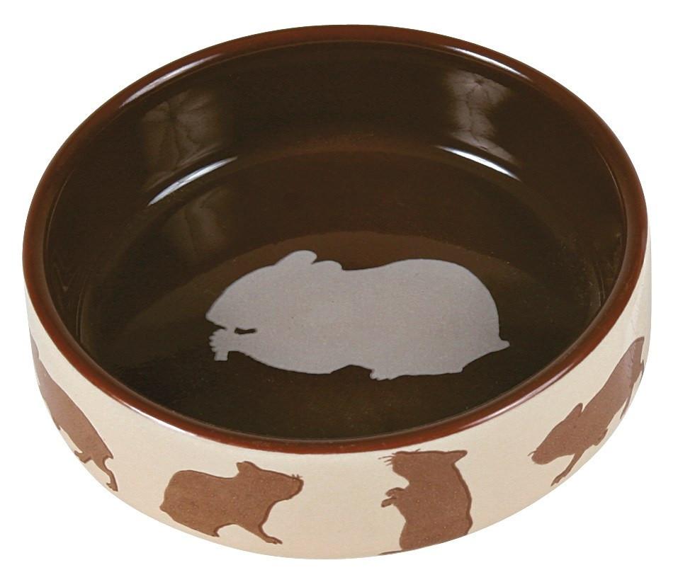 Миска Trixie Ceramic Bowl для грызунов, керамика, 80 мл