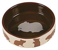Миска Trixie Ceramic Bowl для грызунов, керамика, 80 мл, фото 1