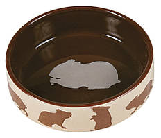 Миска Trixie Ceramic Bowl для грызунов, керамика, 80 мл