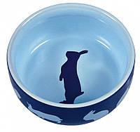 Миска Trixie Ceramic Bowl для кроликов, керамика, 0.25 л, фото 1