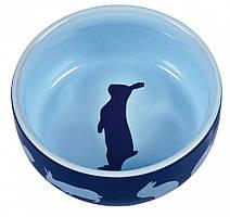 Миска Trixie Ceramic Bowl для кроликов, керамика, 0.25 л