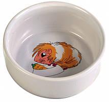 Миска Trixie Ceramic Bowl для морской свинки, керамика, 0.25 л
