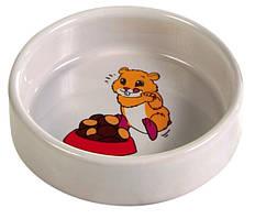Миска Trixie Ceramic Bowl для мелких грызунов, керамика, 0.1 л