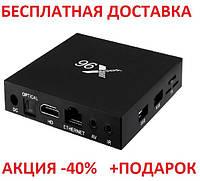 X96 mini TV BOX Android Смарт ТВ ОПТ телевизионная приставка медиаплеер 2GB+16GB Amlogic S905W