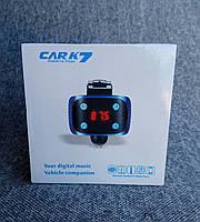 Автомобильный FM модулятор с Bluetooth Car K7