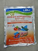 ХЬЮМИК ТОТАЛ (HUMIC TOTAL) водорастворимый гумат калия,1 кг,  Leili Agrochemistry