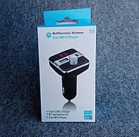 Автомобильный FM модулятор с Bluetooth X9