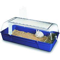 Клетка Savic Rody Rabbit (Роди) для кроликов, 96х50х35 см синяя