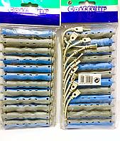 Бигуди Sinus с круглой резинкой, (90 мм/13 мм)