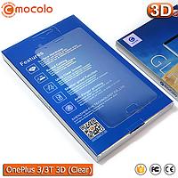 Защитное стекло Mocolo OnePlus 3/3T 3D (Clear)