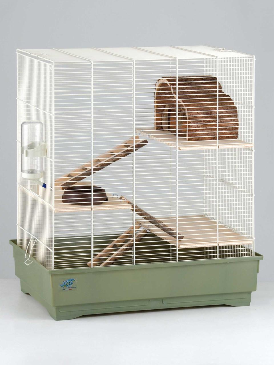 Клетка Fop 20910067 Fedro Natura укомплектованная 66 см/45 см/76 см