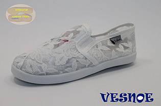 Детские мокасины Vesnoe для девочки (лето), р-р 31-36 (C) (12 ед в уп)