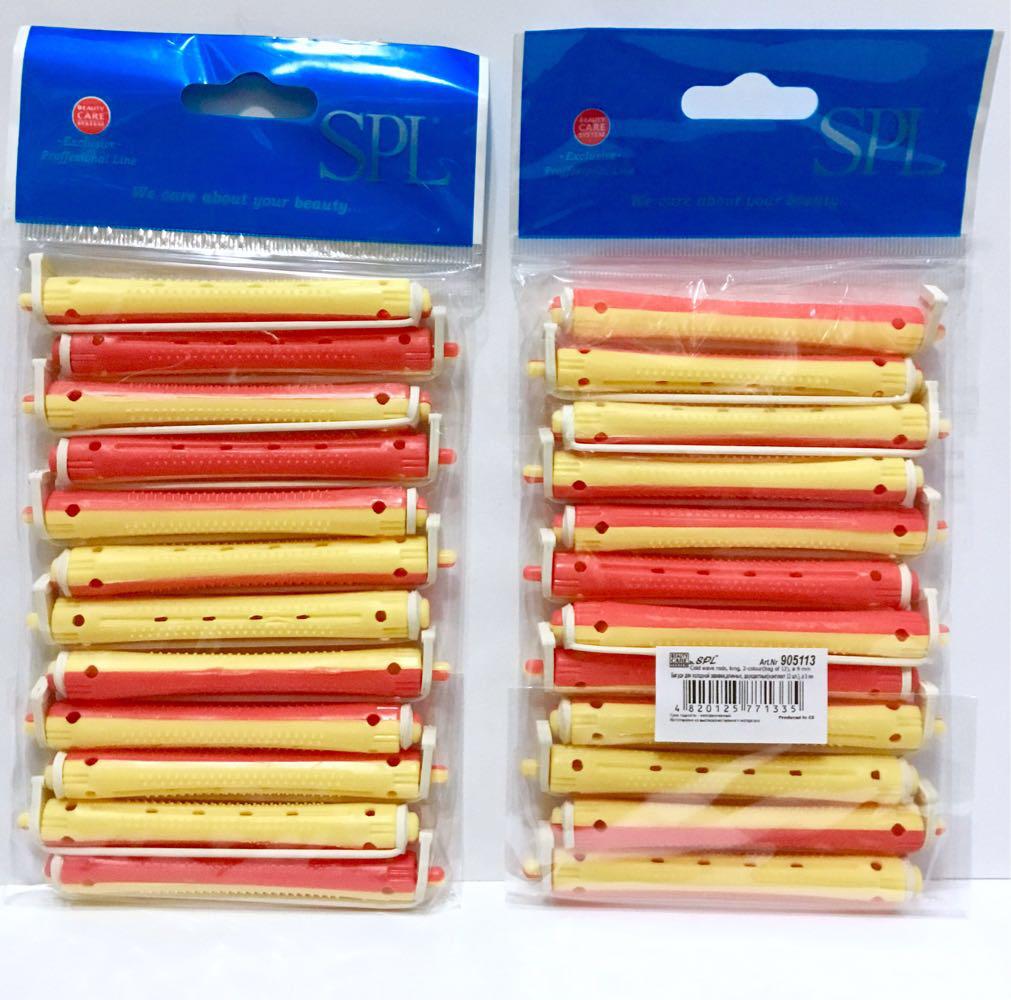 Бигуди коклюшки для химической завивки SPL 905113, 12 шт., (70 мм/9 мм)
