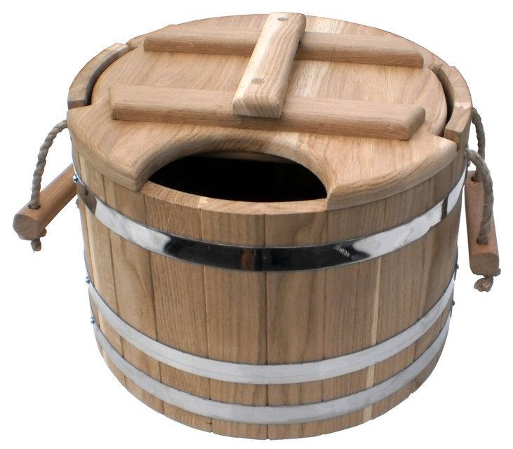 """Запарник для веников дубовый 20 литров. """"ПРОФИ"""""""