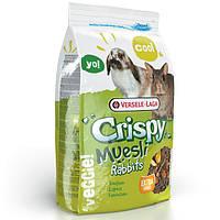 Корм Versele-Laga Crispy Muesli Rabbits Cuni для карликовых кроликов, зерновая смесь, 1 кг