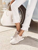 Кроссовки MICHAEL Michael Kors Astor Studded Mesh and Leather Sneaker