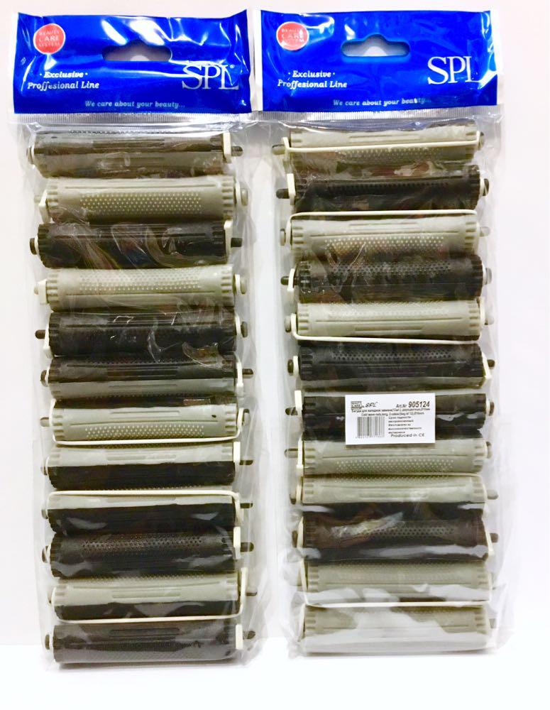 Бигуди коклюшки для химической завивки SPL 905124, 12 шт., (70 мм/16 мм)
