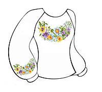 Заготовка женской сорочки-вышиванки ВЖЛ-011