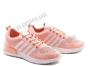 Кроссовки женские Violeta (33-33 pink-white)   8 пар (Код 119007)