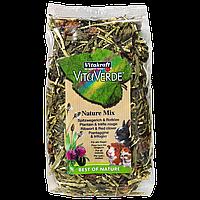 Суміш Vitakraft Vita Verde для гризунів трав'яна, з подорожником і конюшиною, 70 г