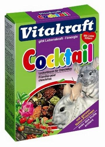 Лакомство Vitakraft Cocktail для шиншилл с шиповником и овощами, 50 г