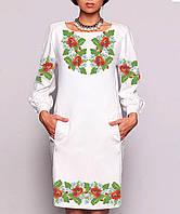Заготовка жіночого плаття чи сукні для вишивки та вишивання бісером Бисерок  «Розкіш літа» ( 49b8e8dcc6d95