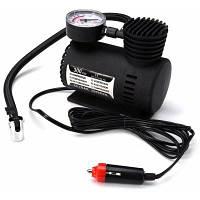 DC 12V 300 PSI Электрический насос компрессор воздуха для мотоцикла черный цвет Чёрный