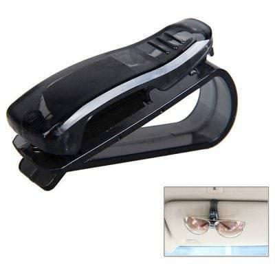 Новые пластиковые клипсы для солнцезащитных очков автомобильный держатель - Чёрный, фото 2