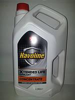 Антифриз концентрат Texaco Havoline Xtended Life Coolant, G12+,5 л, красный, -70 С