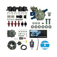 Комплект ГБО 4 поколения DIGITRONIC IQ QBOX Plus OBD (ред. Alaska Super 140 л.с., форс. AEB)