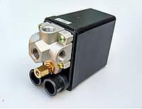 Автоматика для компрессора 220 В ( прессостат ) 4 выхода