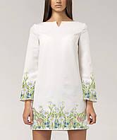 1ebbfa0d8110b8 Заготовка жіночого плаття чи сукні для вишивки та вишивання бісером Бисерок  «Поле ромашок» (
