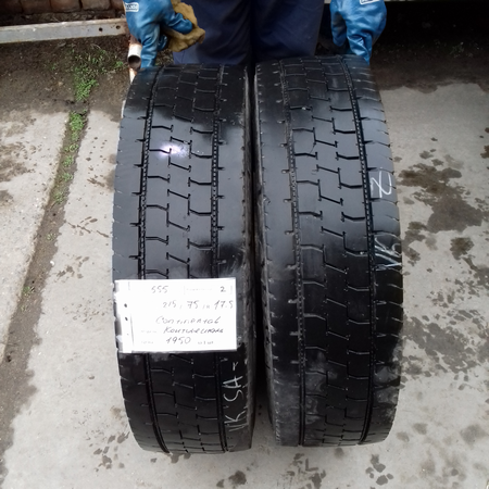 Грузовые шины б.у. / резина бу 215.75.r17.5 Continental LDR1 Континенталь