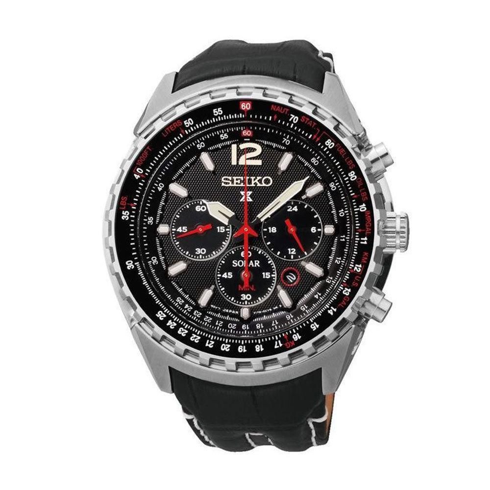 Часы Seiko Prospex Aviation SSC261P2 SOLAR V175 В.