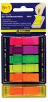 25-61ассорти Закладки пластиковые с липким слоем 45x12mm. POP-UP NEON Buromax № 2303-98